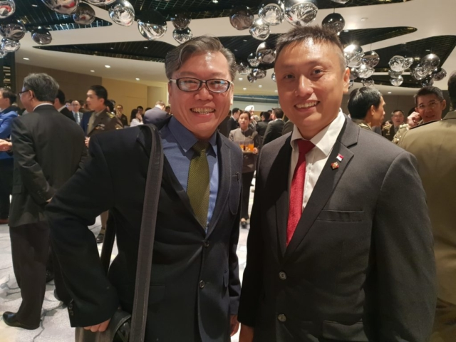 Jeffrey Tan with meetup king